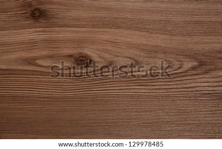 The texture of the wood planks from the old oak tree - stock photo