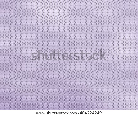 The textured background a grid honeycombs, lilac. An easy, air, geometrical transparent pattern for background design. - stock photo