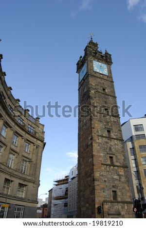 The Tolboth Steeple at Glasgoe Cross, Scotland