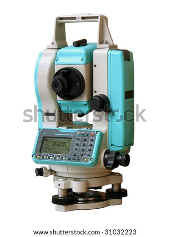 The total station. The geodetic and topography measuring tool.