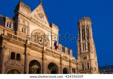The town hall of the 1st district of Paris is a striking eclectic building where neo-Renaissance, French Renaissance and Flamboyant Gothic architectural features beautifully blend.