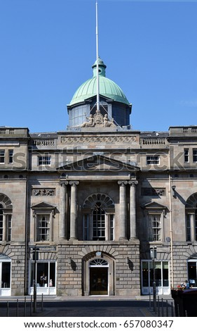 The Trades Hall Of Glasgow, Home Of The Trades House Of Glasgow And Its  Fourteen