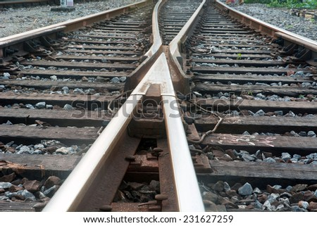 The train tracks