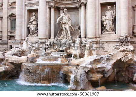 "The ""Trevi Fountain"""