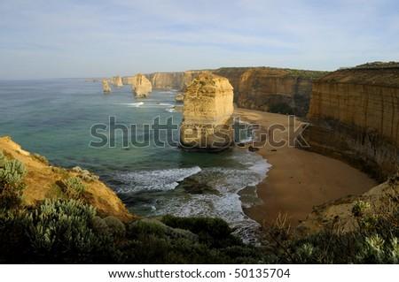 The Twelve Apostles Australia - stock photo