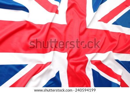The UK, British flag, Union Jack - stock photo