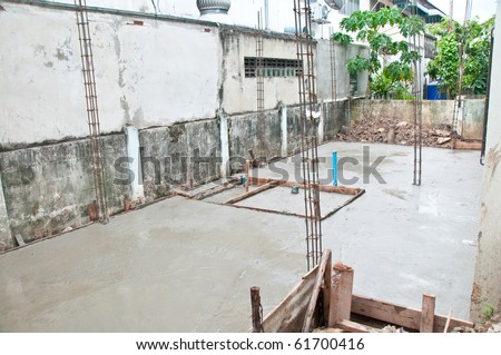 The Under construction - stock photo