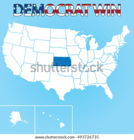 The United States Election Ilration For Kansas