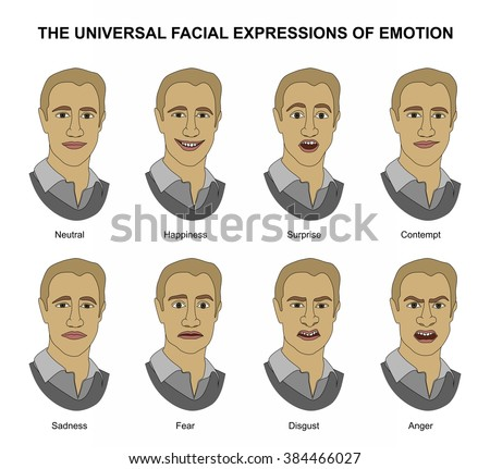 Facial expressions in nonverbal communication