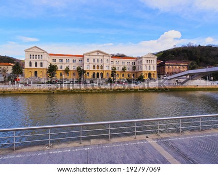The University of Deusto in Bilbao, Biscay, Basque Country, Spain