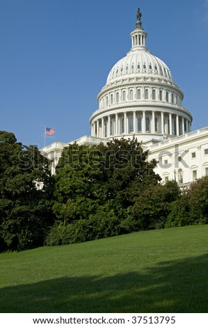 The US Capitol Building in Washington, DC. - stock photo