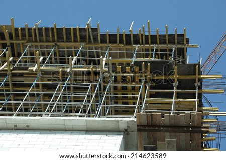 the use of of reinforcement in construction of the building