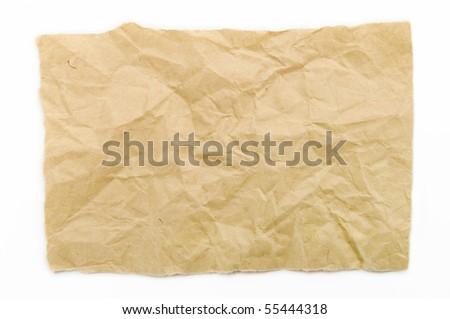 The vellum paper - stock photo