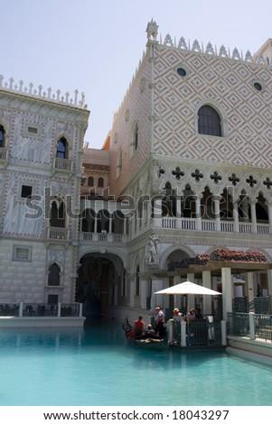 The Venetian Hotel, Las Vegas - stock photo
