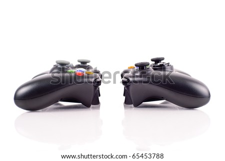 The Versus Battle - stock photo