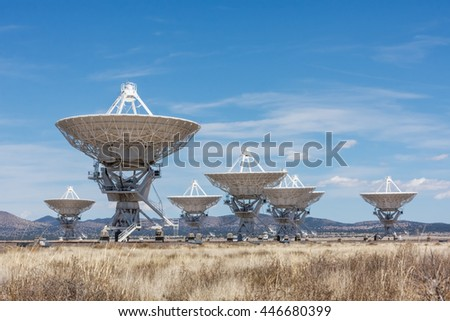 The Very Large Array (VLA) in New Mexico, USA