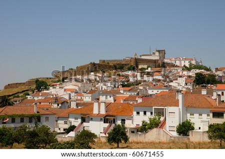 the village of Estremoz in Portugal