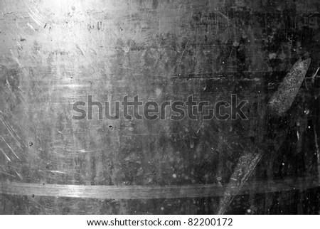 The vintag rusty grunge iron textured background - stock photo