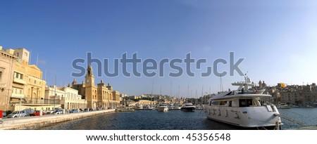 The Vittoriosa Marina Malta. - stock photo