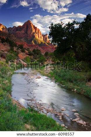 The Watchman - stock photo