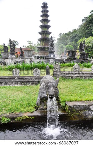 The Water Palace of Tirtaganga in East Bali