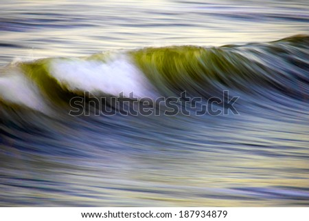 The Wave - stock photo