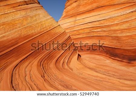 The Wave - Arizona / Utah Boarder - stock photo