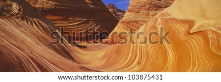 The Wave, Sandstone Formation, Kenab, Utah