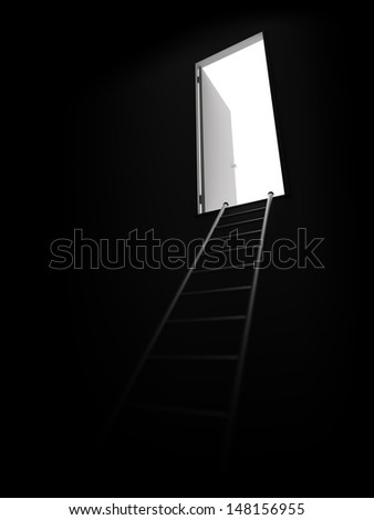 The Way Out - stock photo