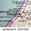 The way we looked at Ghaza in 1949. - stock photo