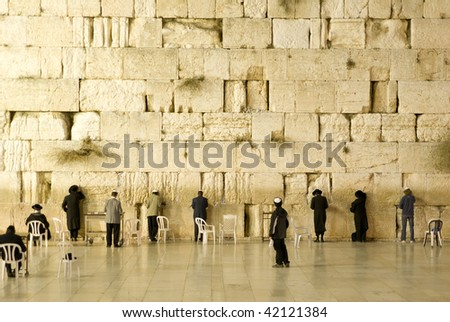 The westwer Wall - stock photo