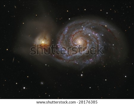 The Whirlpool Galaxy M51