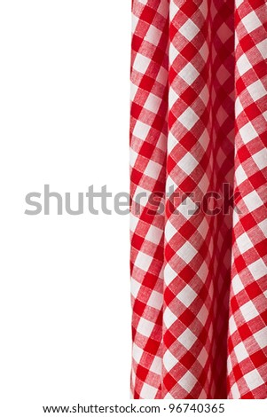 the white and red checkered background - stock photo