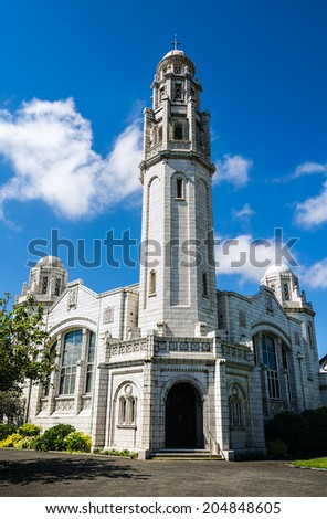 The White Church, Lytham St Annes  - stock photo