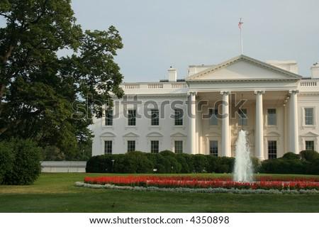 The White House - stock photo