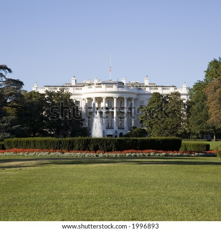 The White House - home of the President of The United States