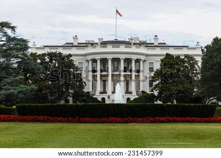 The White House in Washington, DC - stock photo