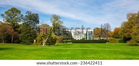 The White House in Washington, DC. - stock photo