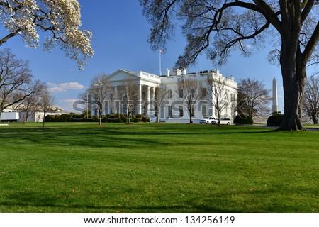 The White House in Washington DC, United States - stock photo