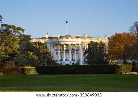 The White House Washington D.C. - stock photo