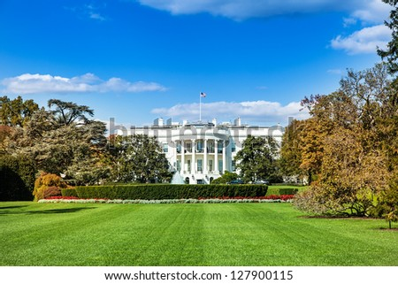 The White House - Washington DC United States
