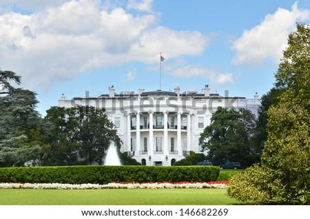 The White House, Washington DC - United States - stock photo
