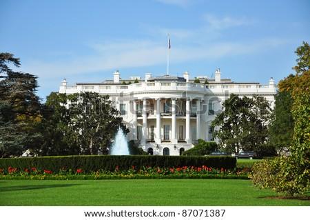 The White House, Washington DC, USA - stock photo