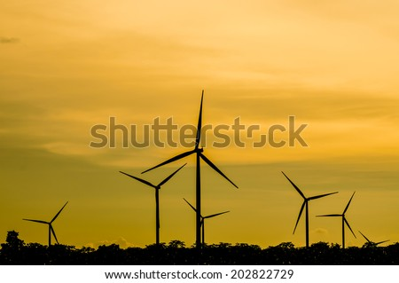 The wind turbine generator,the renewable energy