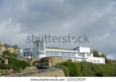 The Winter Gardens at Ventnor, Isle of Wight.