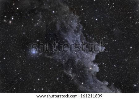 The Witch Head Nebula - stock photo