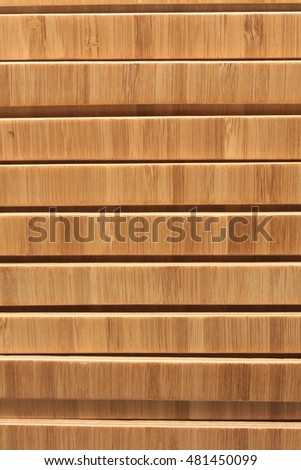 The wood background
