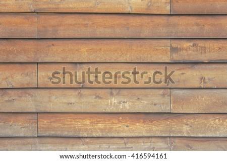 The wood board wall - stock photo