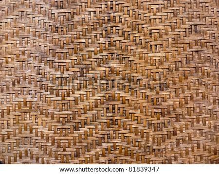 the wood overlap - stock photo
