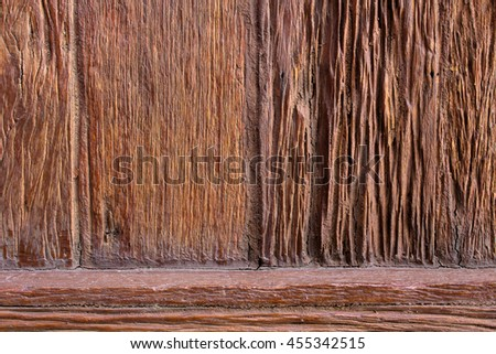The wood surface, wood texture for background.